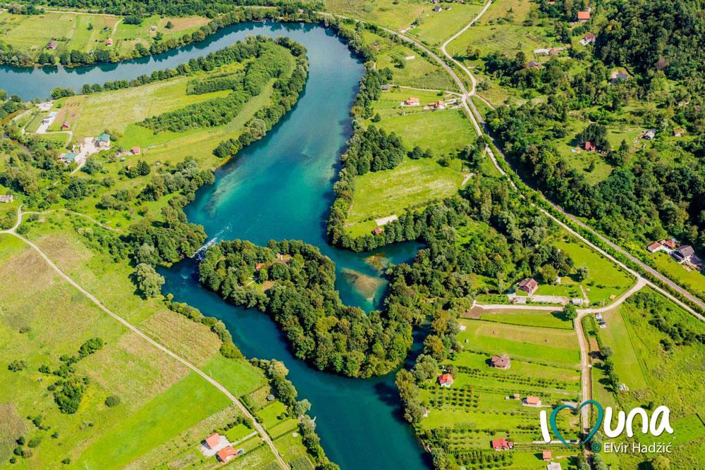 Japodski otoci - Una Aqua centar - Rafting na rijeci Uni - Kamp - Vikendice