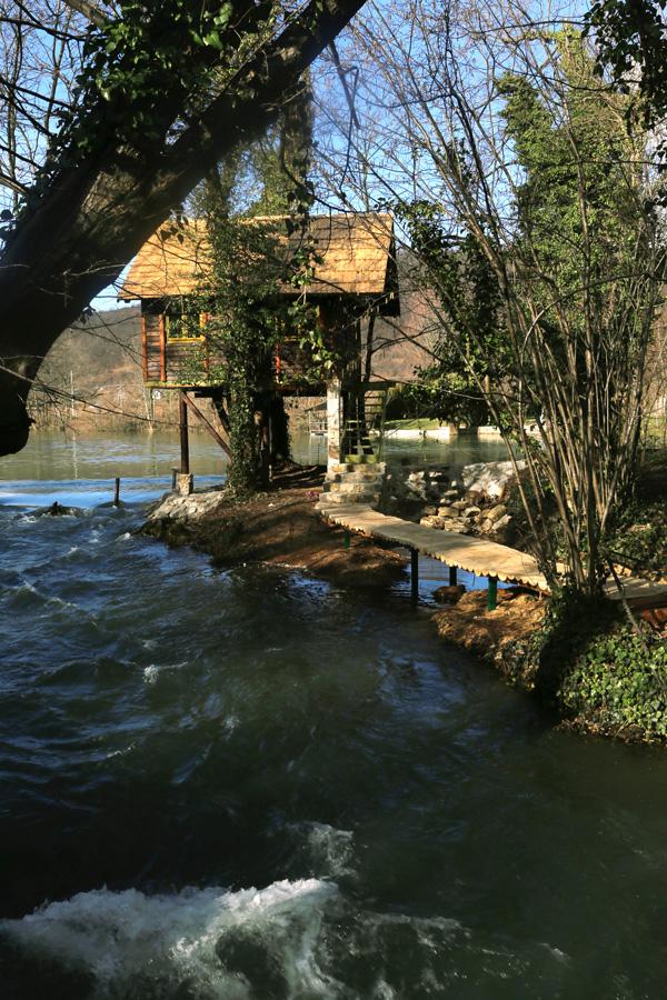 Smještaj - Una Aqua centar - Rafting na rijeci Uni - Kamp - Vikendice